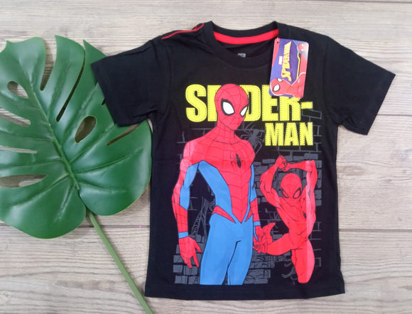POLO SPIDERMAN MANGA CORTA - SPIDERMAN ORIGINAL - PAPAYAPERU.COM