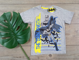 POLO BATMAN  MANGA CORTA - DC COMICS ORIGINAL - PAPAYAPERU.COM