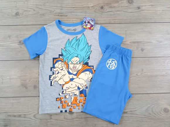 CONJUNTO POLO + PANTALON NIÑO DRAGON BALL - PAPAYAPERU.COM