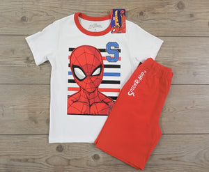 CONJUNTO POLO + PANTALON NIÑO SPIDERMAN - PAPAYAPERU.COM