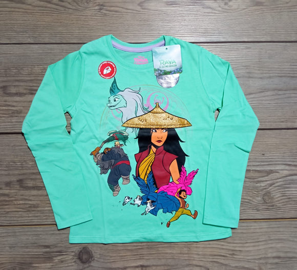 POLO RAYA DISNEY MANGA LARGA - RAYA DISNEY ORIGINAL - PAPAYAPERU.COM