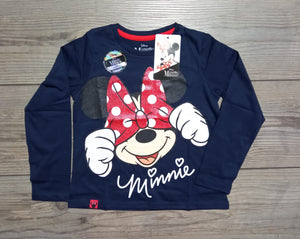POLO MINNIE MOUSE MANGA LARGA - DISNEY ORIGINAL - PAPAYAPERU.COM