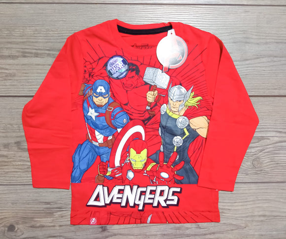 POLO VENGADORES MARVEL ORIGINAL - MANGA LARGA - PAPAYAPERU.COM
