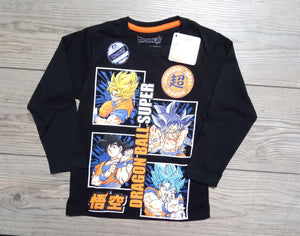 POLO DRAGON BALL MANGA LARGA - DRAGON BALL ORIGINAL - PAPAYAPERU.COM