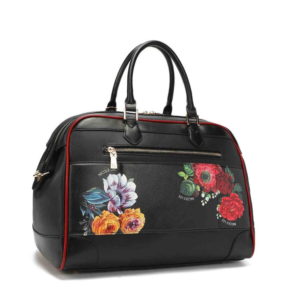 BOLSO TOTE BEAUTY IN THE DARK - NICOLE LEE - PAPAYAPERU.COM