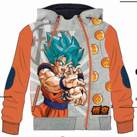 POLERA MODA DRAGON BALL MANGA LARGA - DRAGON BALL ORIGINAL - PAPAYAPERU.COM