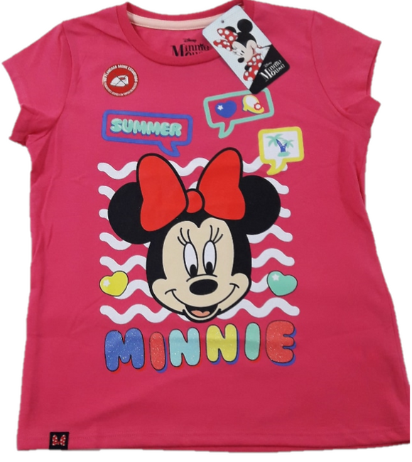 POLO MANGA CORTA MINNIE MOUSE - MINNIE ORIGINAL - PAPAYAPERU.COM