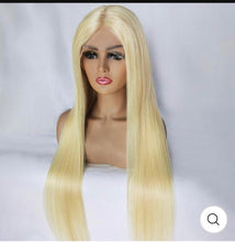 "Load image into Gallery viewer, Blondley Chic Frontal 13*4""Wig"