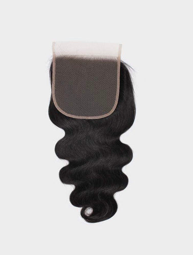 Chic wavy body wave closure