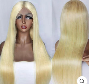 "Blondley Chic Frontal 13*4""Wig"