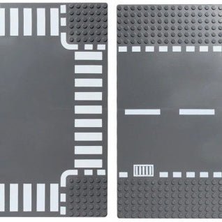 Save money and gain freedom with LEGO® compatible city road base plates from Bricklicious with free delivery worldwide