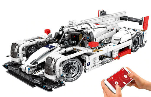 Have fun with this 1540 piece LEGO® compatible 1:14 Scale Remote Control Racing Car set from Briclicious with free delivery worldwide