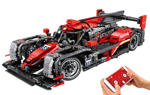Have fun with this 1537 piece LEGO® compatible 1:14 Scale Remote Control Racing Car set from Bricklicious with free delivery worldwide