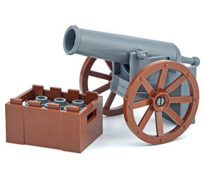 Blast away at your enemies with this operating LEGO® compatible cannon from Bricklicious with free delivery worldwide
