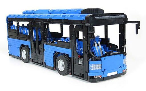 Take care of public transport in your brick world with the 2673 piece LEGO® compatible City Bus with optional Motor System set from Bricklicious with free delivery worldwide