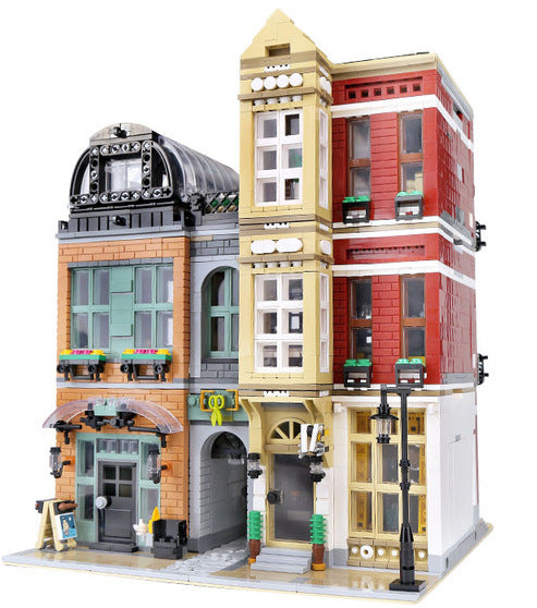 Add footwear retail to your world with the 4087 piece LEGO® compatible City Shoe Store set from Bricklicious with free delivery worldwide
