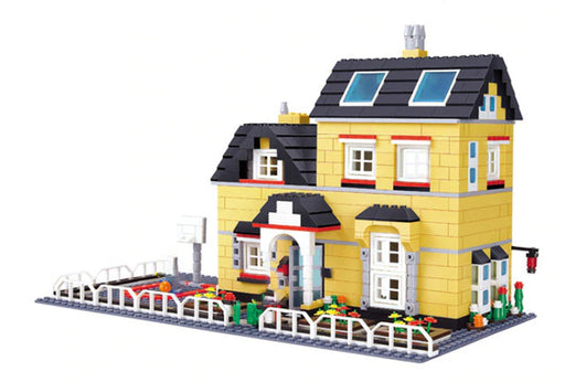 Home your residents in this neat 755 piece LEGO® compatible City Luxury Villa set from Bricklicious with free delivery worldwide
