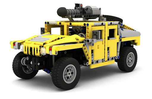 Blast down the highway in this 1240 piece LEGO® compatible Hummer H1 with optional Motor set from Bricklicious with free delivery worldwide