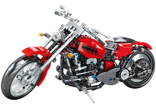 Cruise down the highway in this 782 piece LEGO® compatible motorcycle set from Bricklicious with free delivery worldwide