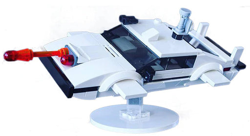 Relive memories of Roger Moore as James Bond with the 195 piece LEGO® compatible Lotus Esprit S1 with Submarine Conversion set from Bricklicious with free delivery worldwide