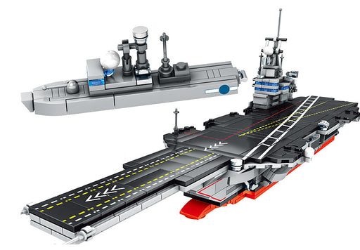 Continue to defend the ocean with this 716 piece LEGO® compatible Modern Aircraft Carrier set from Briclicious with free delivery worldwide