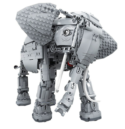Have fun and learn robotics with this 1542 piece LEGO® compatible Remote Control Elephant set from Bricklicious with free delivery worldwide