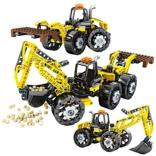 Move pretty much anything with this 357 piece LEGO® compatible Universal Tractor set from Bricklicious with free delivery worldwide