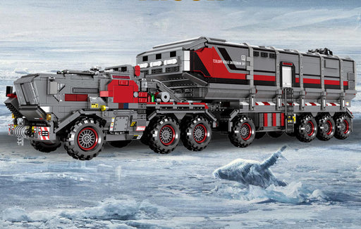 Help save the Earth with the 3712 piece LEGO® compatible Wandering Earth Cargo Transport Truck set from Bricklicious with free delivery worldwide