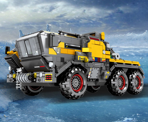Help save the Earth with the 1445 piece LEGO® compatible Wandering Earth Cargo Truck set from Bricklicious with free delivery worldwide