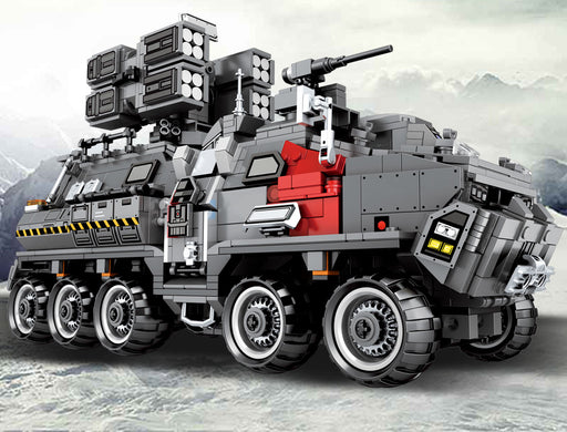 Defend the Earth with the 1925 piece LEGO® compatible Wandering Earth Defense Vehicle from Bricklicious with free delivery worldwide