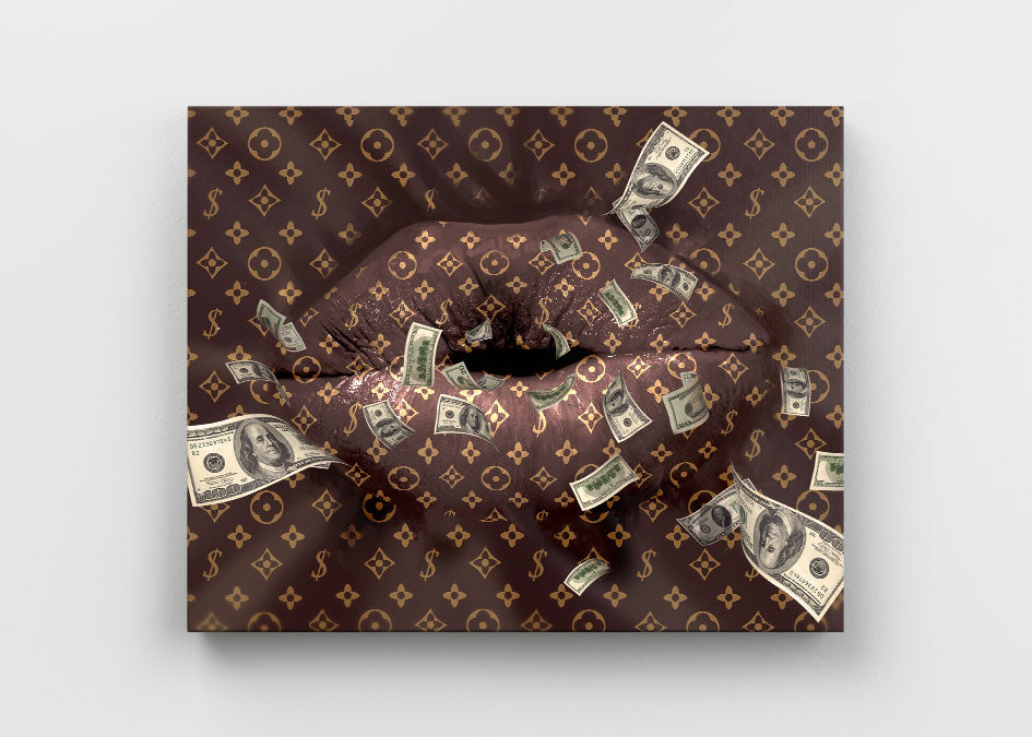 MONEY TALK (CANVAS)