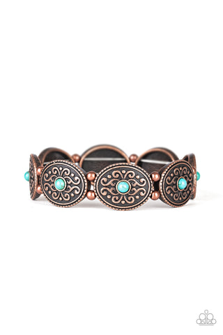 West Wishes Copper Paparazzi Bracelet