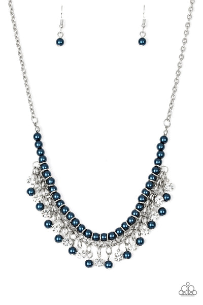 A Touch of CLASSY - Blue Necklace