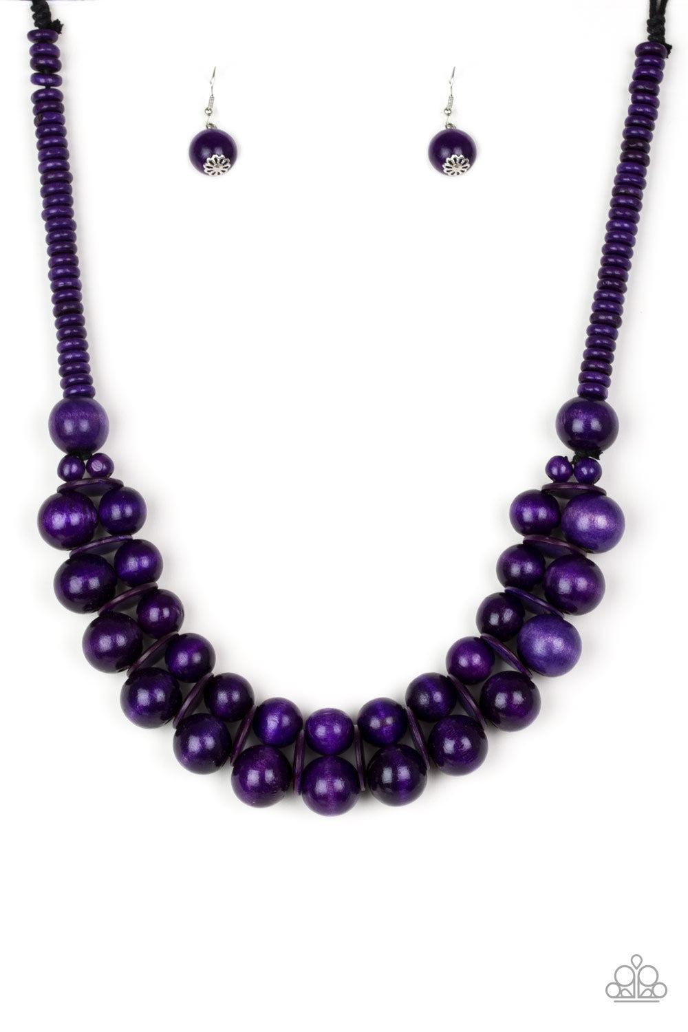 Caribbean Cover Girl - Purple Necklace