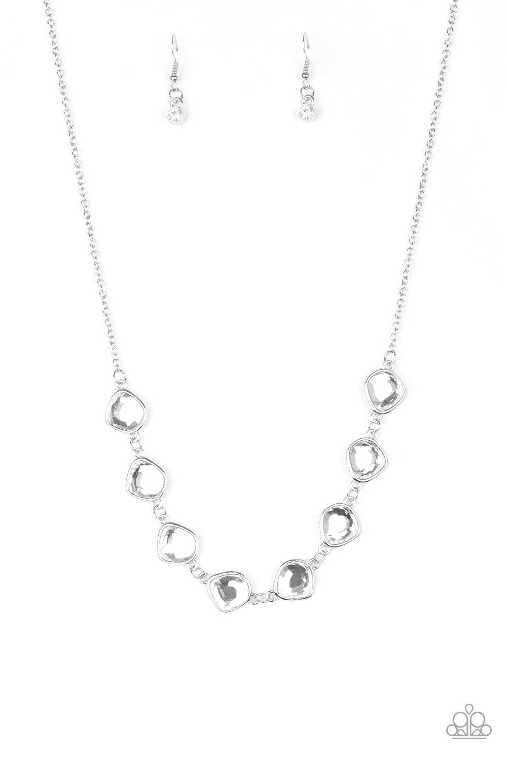 The Imperfectionist - Silver Necklace