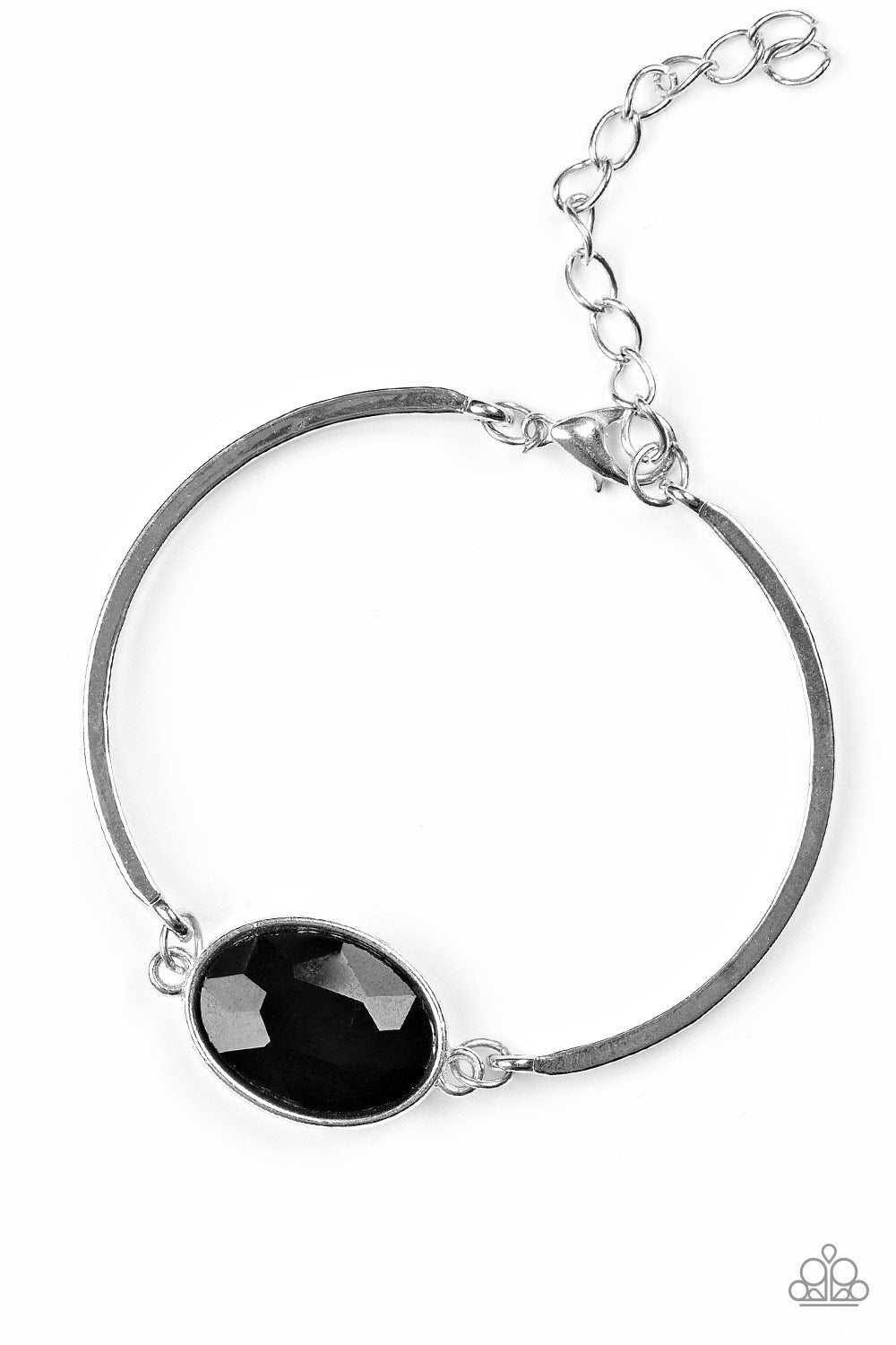 Definitely Dashing Black Bracelet Paparazzi Accessories