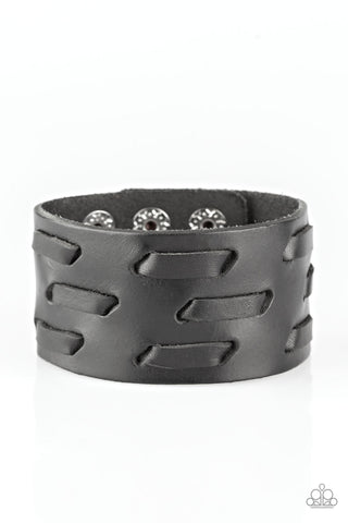 Be Your Own HUNTSMAN - Black Bracelet