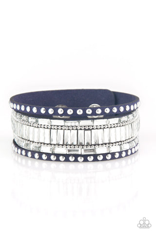 Rock Star Rocker - Blue Bracelet