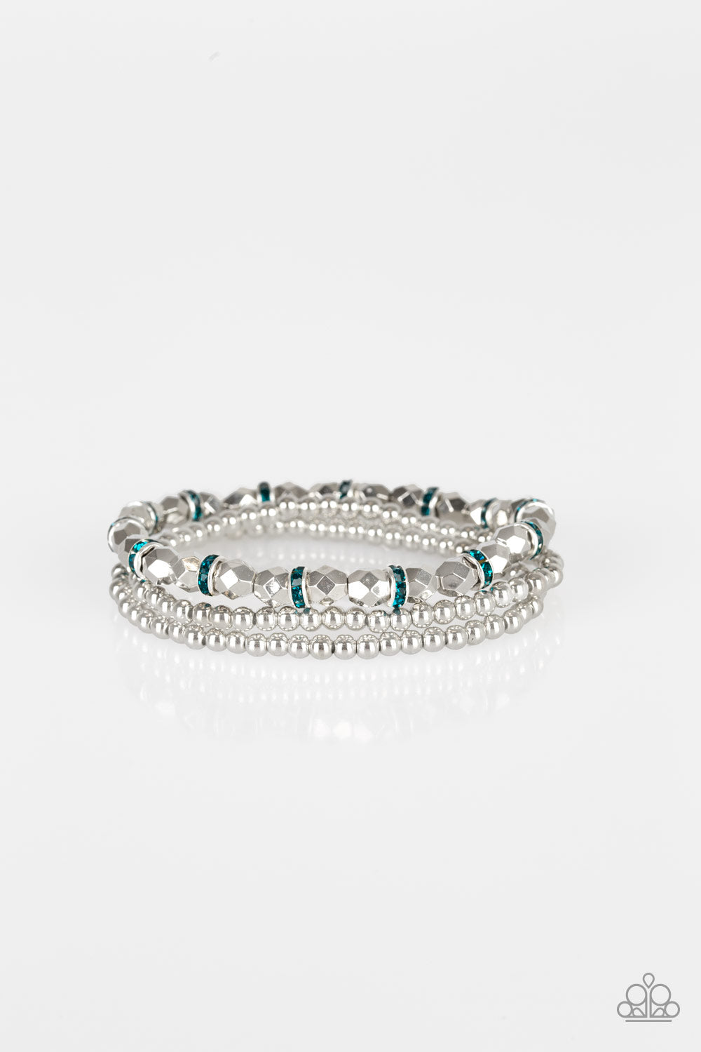 Let There BEAM Light - Blue Bracelet