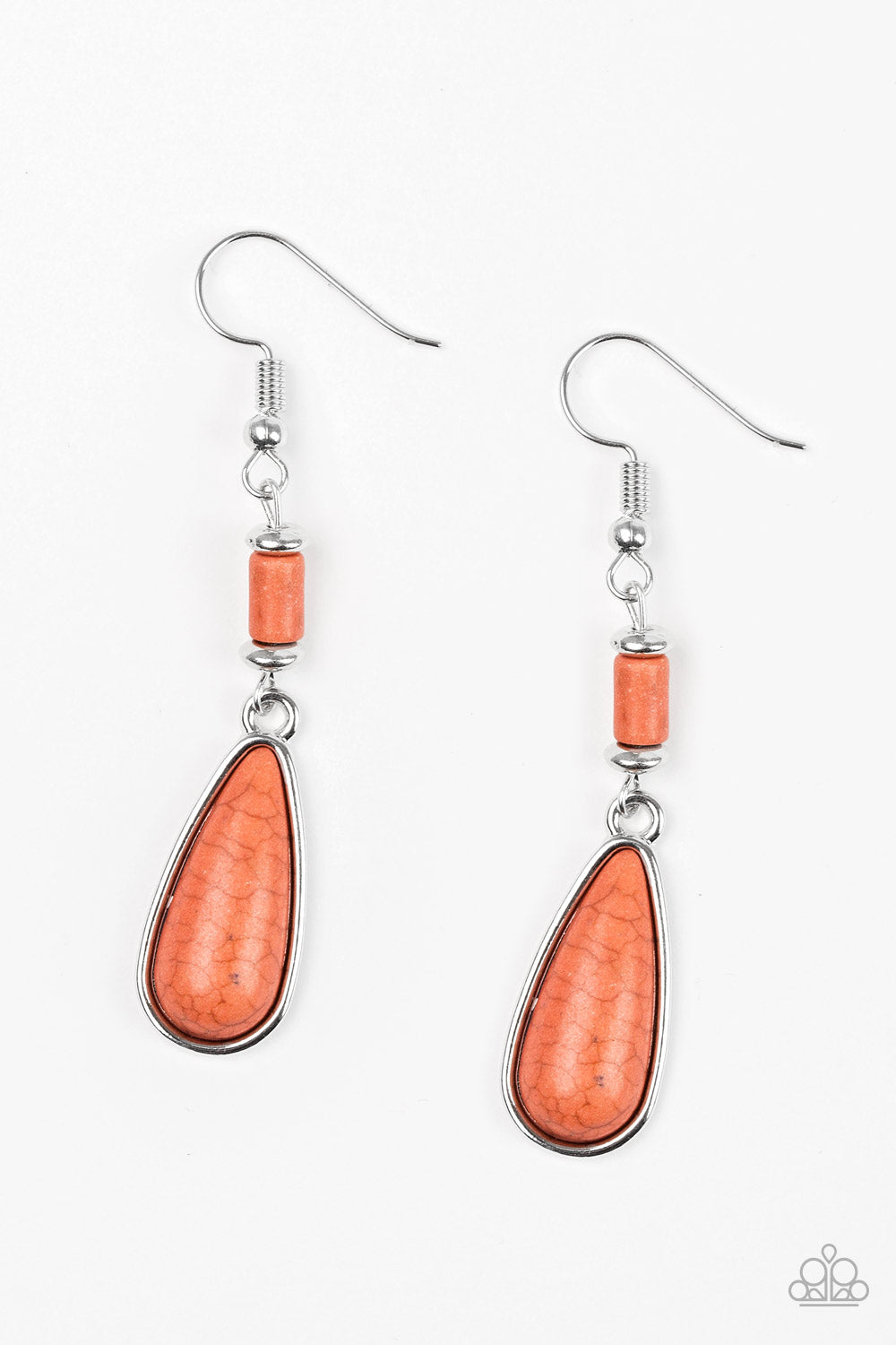 Courageously Canyon - Orange Earrings