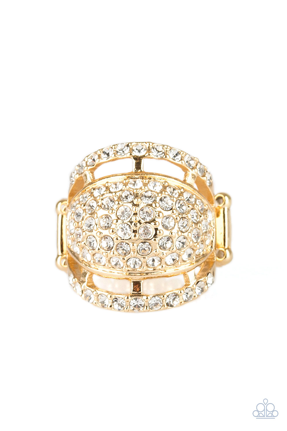 The Seven-FIGURE Itch Gold Ring Paparazzi Accessories