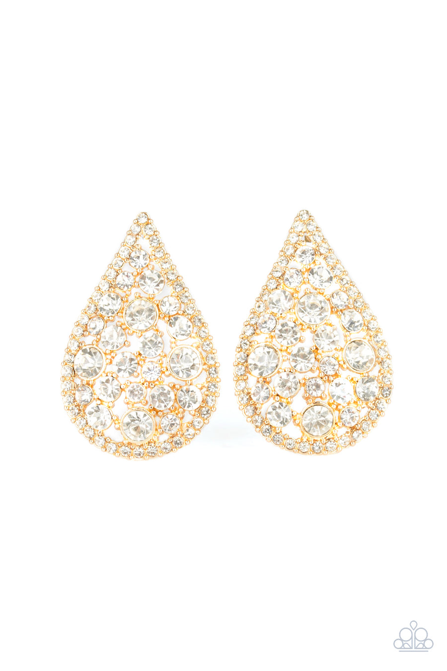 REIGN Storm - Gold Earrings