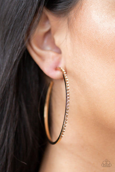 Trending Twinkle - Gold Earrings