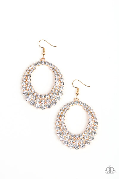 Universal Shimmer - Gold Earrings