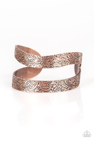 Garden Goddess - Copper Bracelet