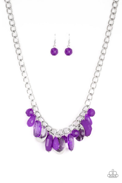 Treasure Shore Purple Necklace Paparazzi AccessoriesTreasure Shore Purple Necklace Paparazzi Accessories