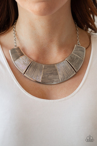 More Roar - Silver Necklace