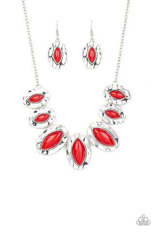 Terra Color Red Paparazzi Necklace