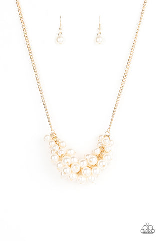 Grandiose Glimmer - Gold Necklace