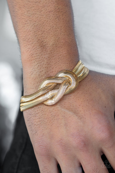 To The Max Gold Bracelet Paparazzi Accessories